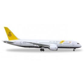 Herpa 528221 Flygplan Royal Brunei Airlines Boeing 787-8 Dreamliner