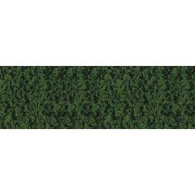 Heki 1553 Dekorgräs, tallgrön, mått 14 x 28 cm