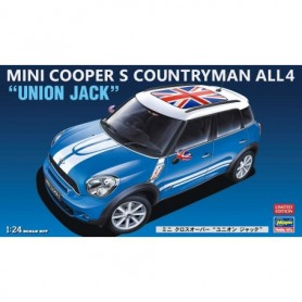Hasegawa 20253 Mini Cooper S Countryman All4 Union Jack Limited Edition
