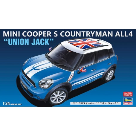 Hasegawa 20253 Mini Cooper S Countryman All4 Union Jack Limited Edi