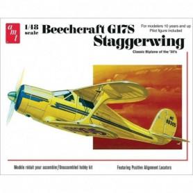 AMT 886 Flygplan Beechcraft G17S Staggerwing