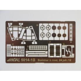 Entec 5014-1B Bommar av äldre rörtyp, byggsats