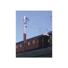 Entec 3413-1B Modern linjestolpe m vikter/spännanordningar, byggsats