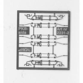 Entec 2231-2B Sidor till PKB byglar
