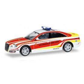 """Herpa 092357 Audi A8 """"Johanniter Czech Republic"""" (CZ)"""