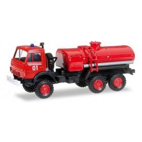 """Herpa 745413 Kamaz 4320 fire engine """"Tschernobyl fire department"""""""
