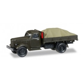 "Herpa 745390 ZIL 150Pick-up truck with load under the canvas ""Sowjetisches Militär"""