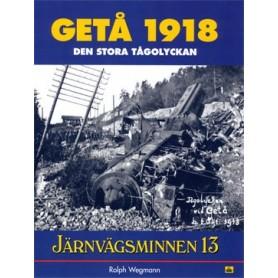 Media BOK242 Järnvägsminnen 13 - Getå 1918