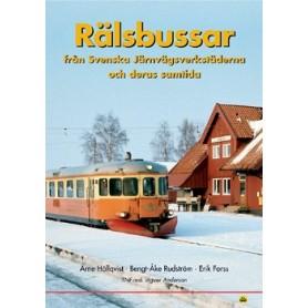 Media BOK244 Rälsbussar - Från Svenska Järnvägsverkstäderna och deras samtid