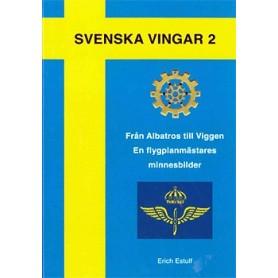 Media BOK247 Svenska vingar 2 - Från Albatros till Viggen