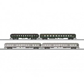 Trix 15471 Vagnsset med 4 personvagnar typ DB