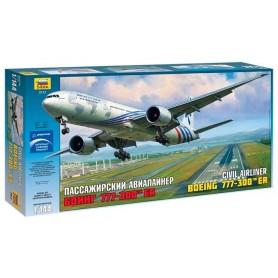 Zvezda 7012 Flygplan Civil Airliner Boeing 777-300 ER