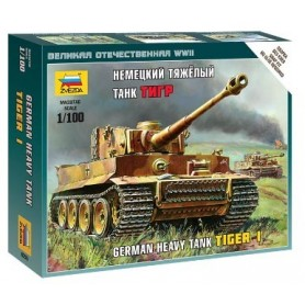 Zvezda 6256 Tanks German Heavy Tank Tiger I