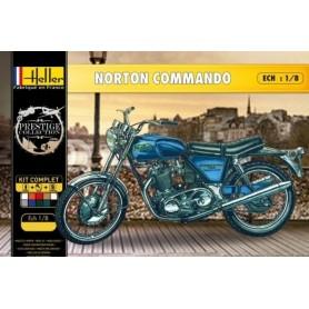 "Heller 52996 Motorcykel Norton 750 Commando ""Gift Set"""