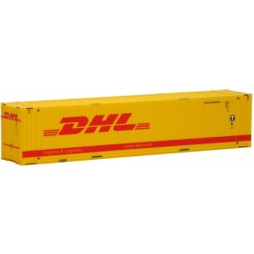 """Herpa Exclusive 491795 Container HighCube 45' """"DHL"""", (AWM)"""