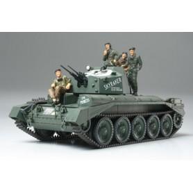 Tamiya 32546 Tanks Crusader Mk.III AA Tank, Includes 4 Figures