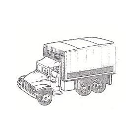 Eko 4026 GMC 2.5 T M-35 Lastbil med kapell