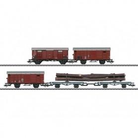 Märklin 46056 Vagnsset med 4 godsvagnar typ SBB/FS
