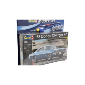 "Revell 67188 Dodge Charger 1968 R/T ""Gift Set"""