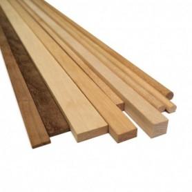 Amati 2491.06 Stripes rektangulär Padauk, 1,5x5 mm, längd 1000 mm