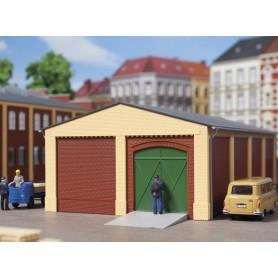 Auhagen 80407 Gavlar och hörnpelare, korta, gula