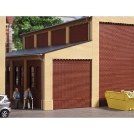 Auhagen 80409 Gavlar och hörnpelare, förlängning, gula
