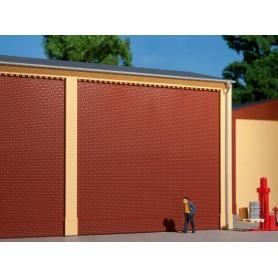 Auhagen 80500 Väggar 2324A, röda