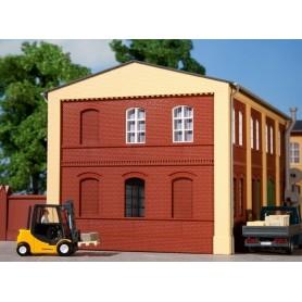 Auhagen 80501 Väggar 2324B, röda