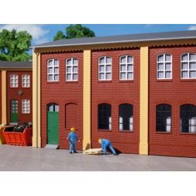 Auhagen 80506 Väggar 2323A/2323B, röda