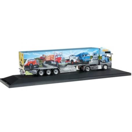 MAN TGX XXL Euro 6 refrigerated semitrailer