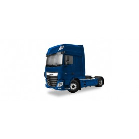 Herpa 305976 DAF XF 105 Euro 6 SSC rigid tractor, enzian blue