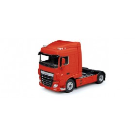 Herpa 305884 DAF XF 105 Euro 6 SC rigid tractor, traffic red