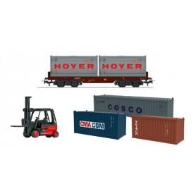 """Märklin 78452 Utbyggnadsset """"Container Logistics"""""""