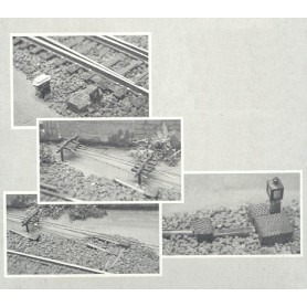 Uhlenbrock 815 Växeldekorationer, epok II-IV