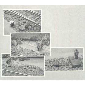 Uhlenbrock 817 Växeldekorationer, epok II-III
