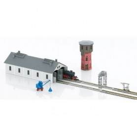 "Märklin 89806 ""Small Maintenance Facility"" Architectural Building Kit Set Part 2"