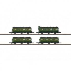 Märklin 87502 Personvagnsset med 4 vagnar typ SNCF