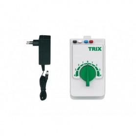 Trix 66508 Trix Locomotive Controller with a 230 Volt Power Supply