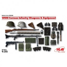 ICM 35638 WWII German Infantry Weapons & Equipment