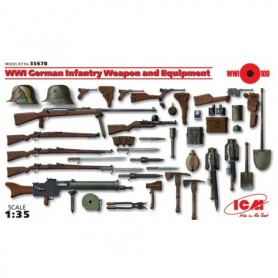 ICM 35678 WWI German Infantry Weapon and Equipment