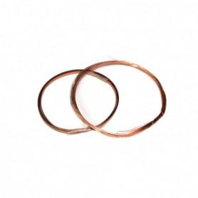 Amati 2835.02 Koppartråd, 1m, 2x0,2 mm