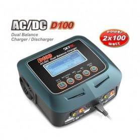 SkyRC SK100089 SkyRC D100 Dubbelladdare 2x100W 240VAC/12VDC