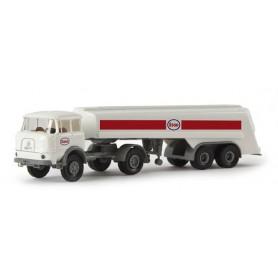 "Brekina 84122 Bil & Tanktrailer Krupp LF 980 ""Esso"""