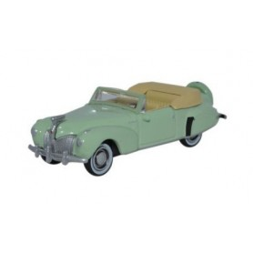 Oxford Models 114371 Lincoln Continental 1941, Paradise Green