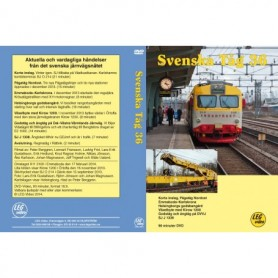 LEG Video 211 Svenska Tåg 36, DVD