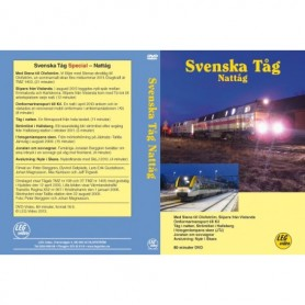 LEG Video 213 Svenska Tåg Nattåg, DVD