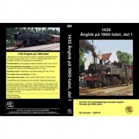 LEG Video 216 1435 Ånglok på 1960-talet, del 1, DVD