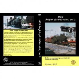LEG Video 217 1435 Ånglok på 1960-talet, del 2, DVD