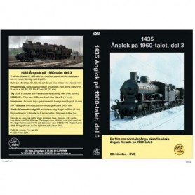 LEG Video 218 1435 Ånglok på 1960-talet, del 3, DVD