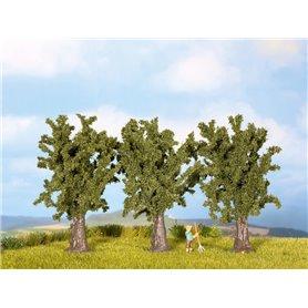 Noch 25150 Lövträd, 3 st, ca 9 cm hög